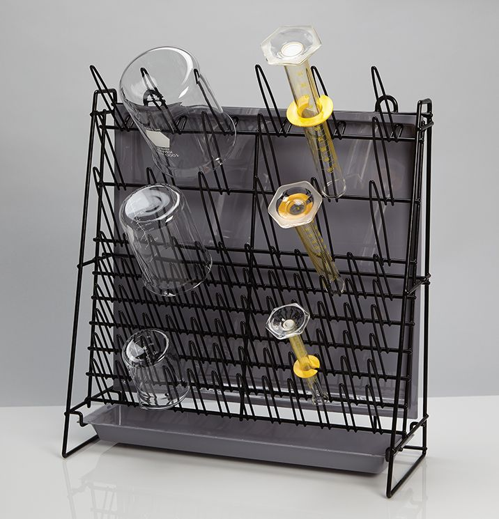 wire drying rack for beakers and cylinders